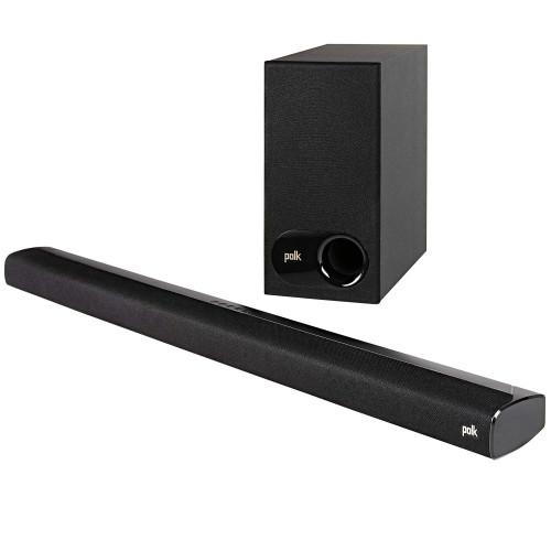 Polk Audio Signa S3 Soundbar & Wireless Subwoofer With Chromecast Built-In