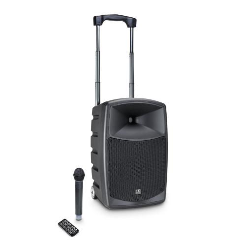 "LD Systems RoadBuddy 10 B6 10"" Battery Powered Bluetooth Speaker w/ Wireless Handheld"
