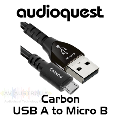 AudioQuest Carbon USB-A to Micro B Cable