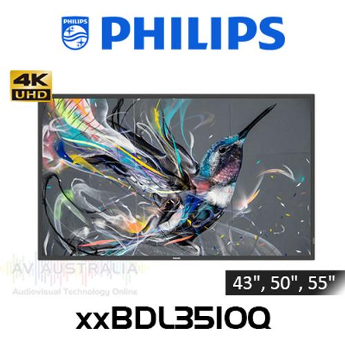 "Philips Q-Line 4K 400 Nits 18/7 Professional Digital Signage (43"", 50"", 55"")"