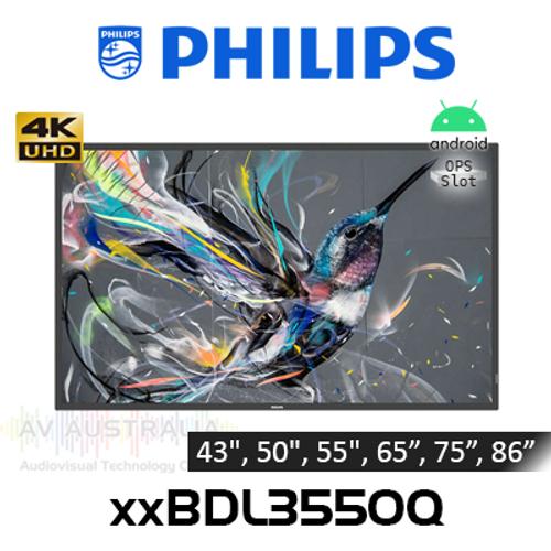 "Philips Q-Line 4K UHD 400 Nits 18/7 Android Digital Signage (43"" - 86"")"
