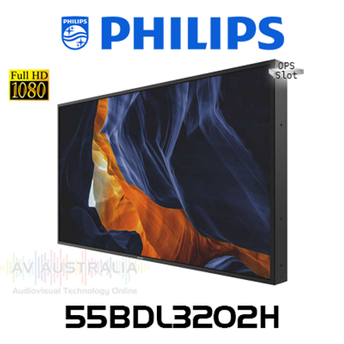 "Philips H-Line 55"" Full HD 2500 Nits 24/7 High Brightness Digital Signage"