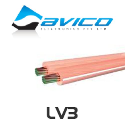 Avico LV3 20AWG Medium Duty OFC Speaker Cable