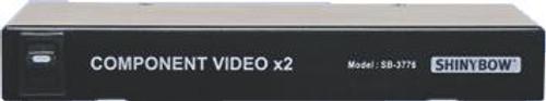 Shinybow 2 Way Component Video Distribution Amp