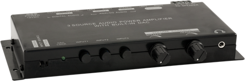 Pro.2 3 Source Class-D Power Amplifier With Built In DAC