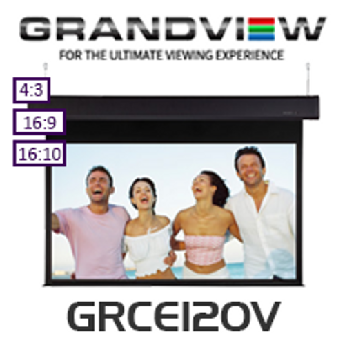 Grandview Motorised Sky-Show Screens