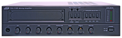 JDM TA1000 4 Zone Mixer Amplifier