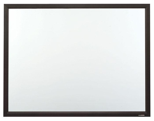 ST CinemaSnap MicroPerf White Fixed Frame Projection Screens with Black Powdercoat Finish