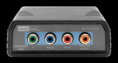 Resi-linx RL-BV260B Component AV UTP Balun