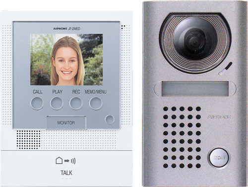 Aiphone JF-2MED Front Door Video Intercom - Kit