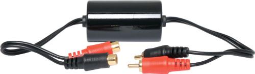 Hum and Noise Eliminating Audio Coupler