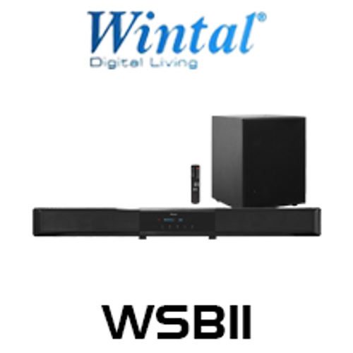 """Wintal 2.1 Ch Sound Bar With Wireless 6.5"""" Subwoofer"""