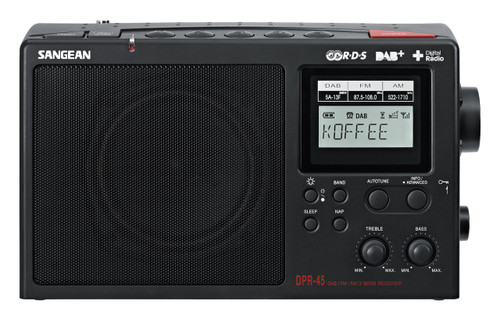 Sangean AM / DAB+ / FM-RDS Portable Digital Radio