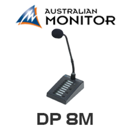 Australian Monitor DP8M DigiPage 8M Paging Station
