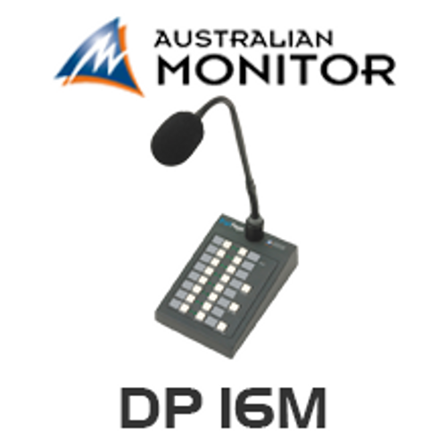 Australian Monitor DP16M DigiPage 16M Paging Station