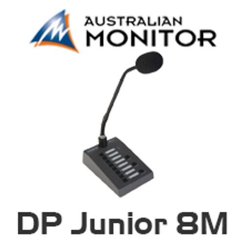 Australian Monitor DigiPage Junior 8M Microphone Station
