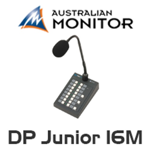 Australian Monitor DigiPage Junior 16M Microphone Station
