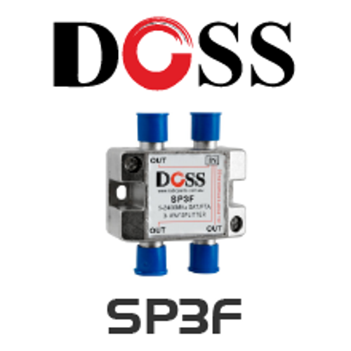 Doss Passive RF 'F' Splitter/Combiner