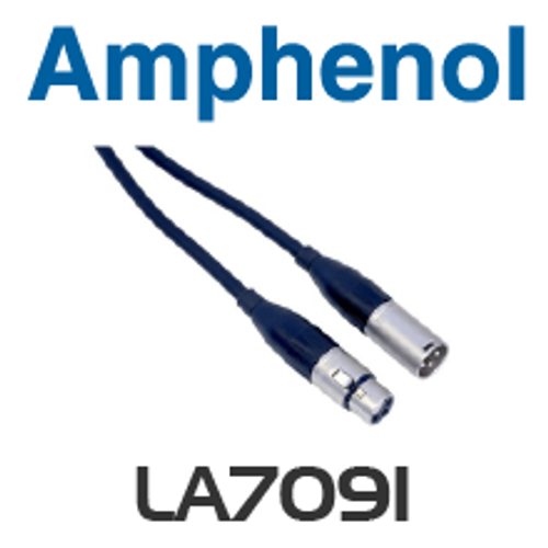 Amphenol XLR Male to Female Lead