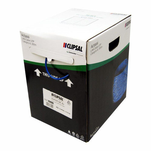 Clipsal Titanium Category 6 Cable 305m Box