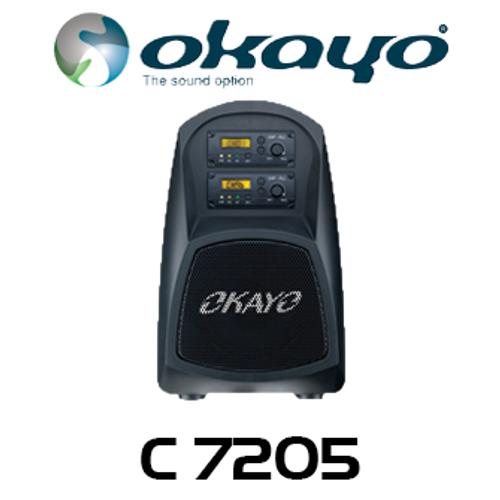 Okayo Compact 30 Watt Portable PA System with MP3 Player