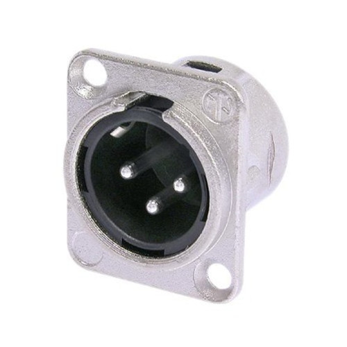 Neutrik DL Series 3 Pin XLR Panel Socket - Male