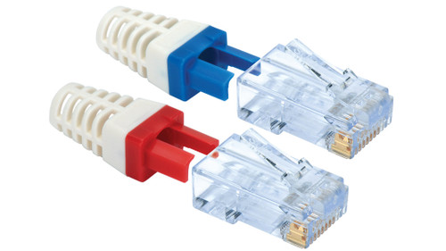 Liberty CatMaster CAT6 Connectors with Strain Relief - 30pk