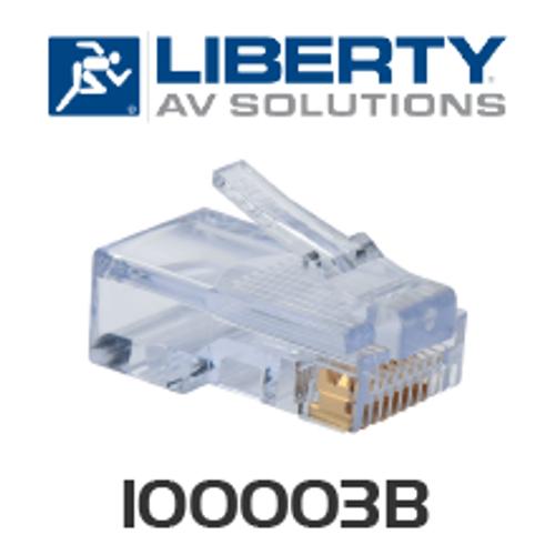 Liberty CatMaster CAT5e Connectors - 100pk