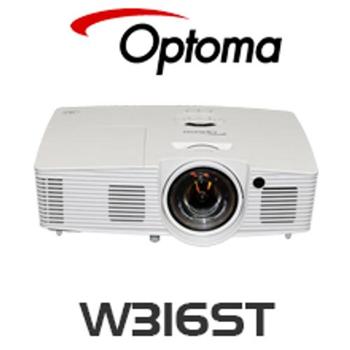 Optoma W316ST DLP Short & Ultra Short Throw Projector