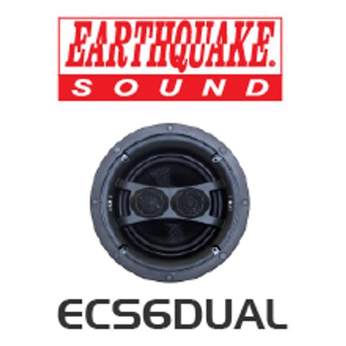EarthQuake ECS6D Dipole/Bipole Single Stereo In-Ceiling Speaker (Each)