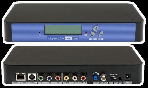 Resi-Linx DM1102M DVBT Single Input SD Digital IR Modulator