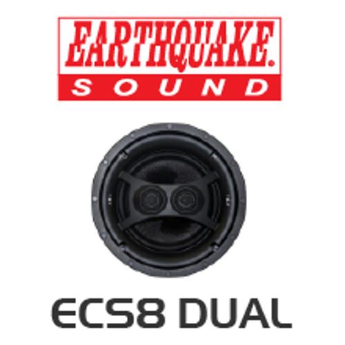 EarthQuake ECS8D Dipole/Bipole Single Stereo In-Ceiling Speaker (Each)