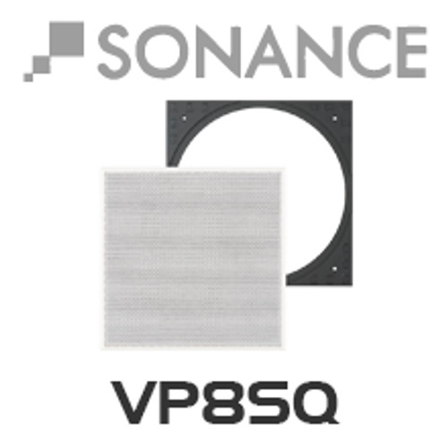 Sonance VP8SQ Square Adapter w/ Grille (Pair)