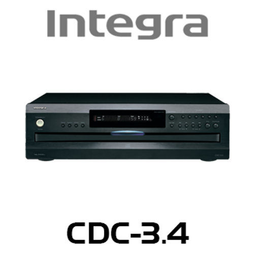 Integra CDC-3.4 6-Disc Carousel CD Changer