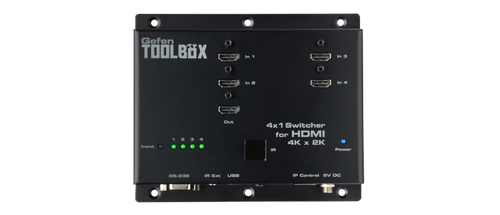 Gefen ToolBox 4x1 Switcher for HDMI with Ultra HD 4K x 2K Support