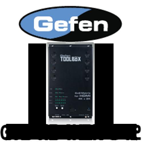 Gefen 6x2 HDMI Matrix with 4K x 2K UltraHD Support and digital Audio Outputs