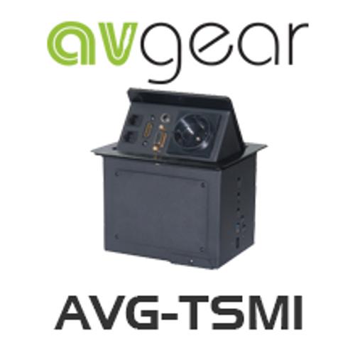 AVGear AVG-TSM1 Pop Up Tabletop Interface incl. 2 Network, HDMI, VGA & Power