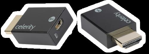 Celerity DFO-PlugSet Tx & Rx HDMI Connector (Pair)