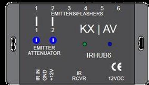 KX-AV IRHUB6 Deluxe Infrared Hub