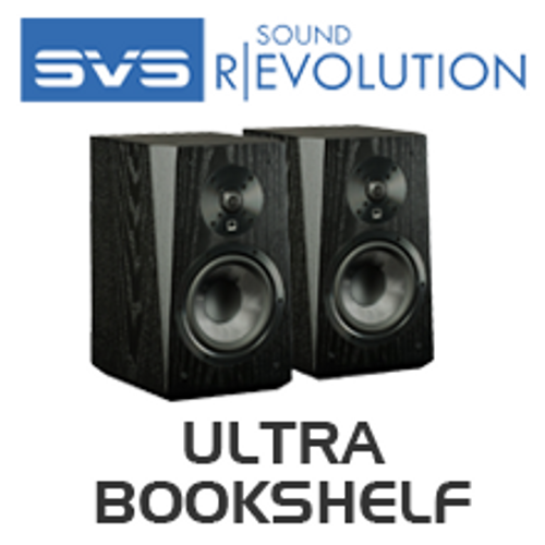 SVS Ultra Bookshelf 2 Way Crossover Speakers Pair