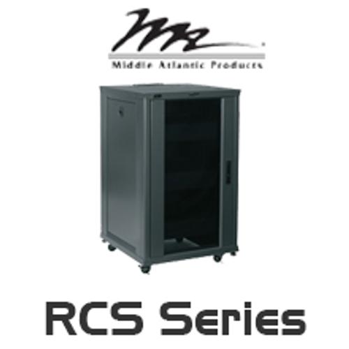 "Middle Atlantic Essex RCS 24"" Deep 18RU / 27RU / 42RU Pre-Configured Rack System"