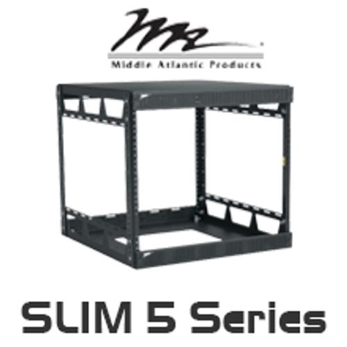 """Middle Atlantic Slim 5 Series 20"""" Deep Knock-Down Rack with 8RU / 14RU / 21RU, 29RU / 37RU / 43RU"""