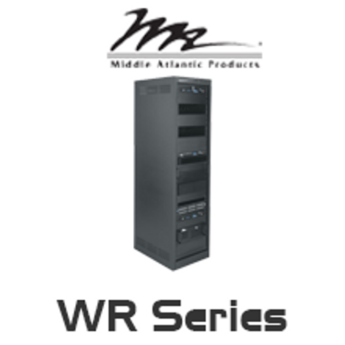 """Middle Atlantic WR Series 32""""/42"""" Deep Roll-Out Rotating System Rack with 24RU / 37RU / 44RU"""