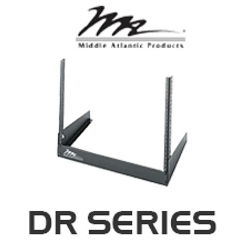 """Middle Atlantic DR Series 11.5"""" Deep Desktop Rail Rack with 8RU / 12RU"""