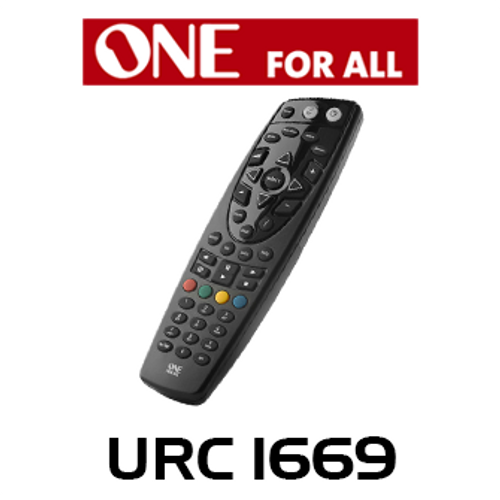 OFA URC1669 Replacement Remote Control For TV And Digital PVRBox