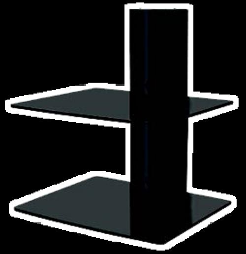 RedLeaf RLDRS101B Wall Mount DVD Shelf