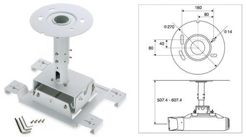 Epson ELPMB26 Ceiling Mount for Z Series Projectors (Telescopic)