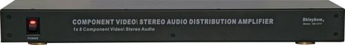 Shinybow SB-3737 1x8 Component Video-Audio Distribution Amplifier