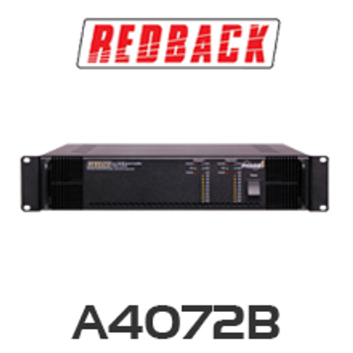Redback A4072B Phase4 PA Amplifier 2x125W