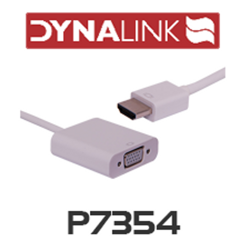 Dynalink P7354 HDMI To VGA And Stereo Audio Converter